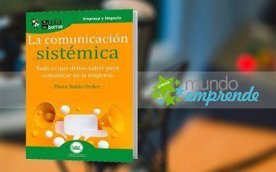 Elena Rubio presenta su libro en 'Mundo Emprende'