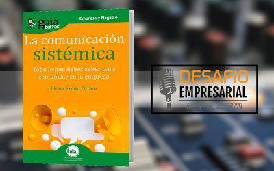 Elena Rubio habla de su libro en 'Desafío empresarial'