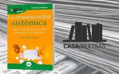 El «GuíaBurros: La comunicación sistémica» en la web de Casa de Letras